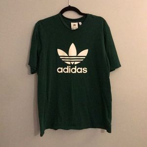 Adidas T-shirt in forest green
